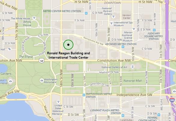 Microsoft Tech Summit Washington DC Free Day Tech Event - United states map washington dc