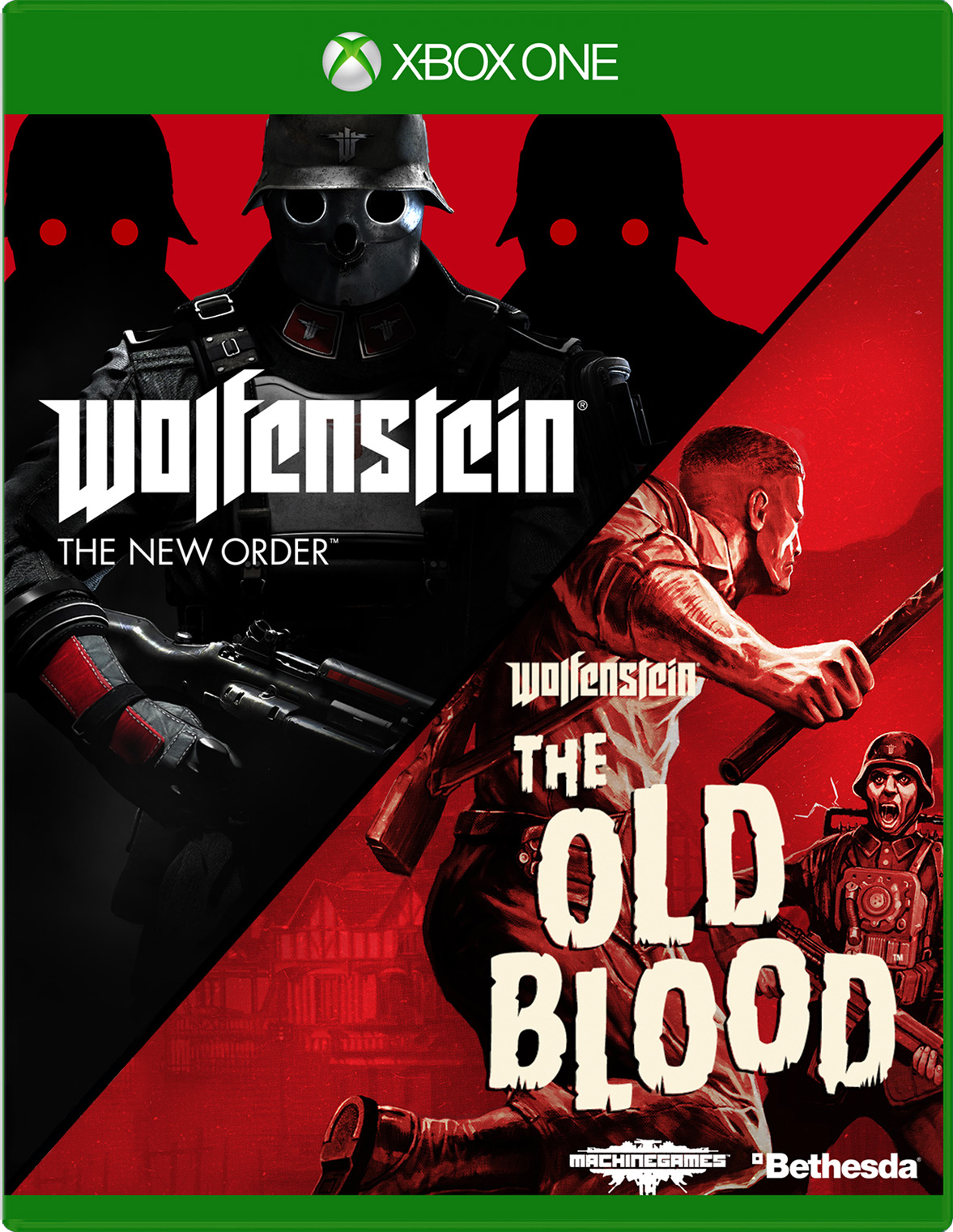 Wolfenstein: The Two-Pack for Xbox One Deal