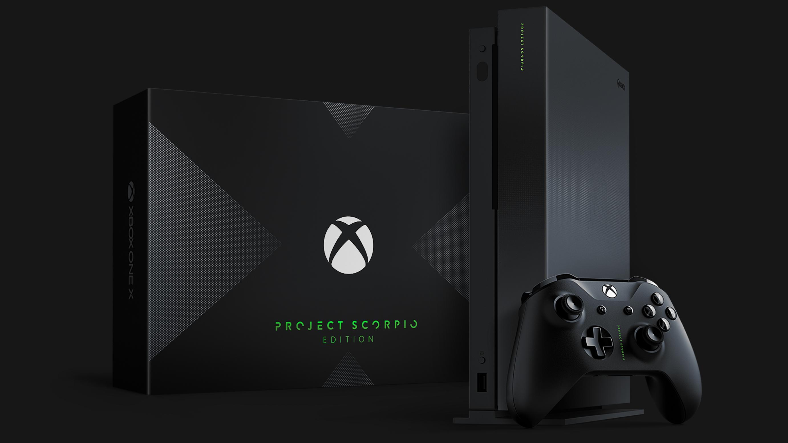 Xbox One X Project Scorpio エ...