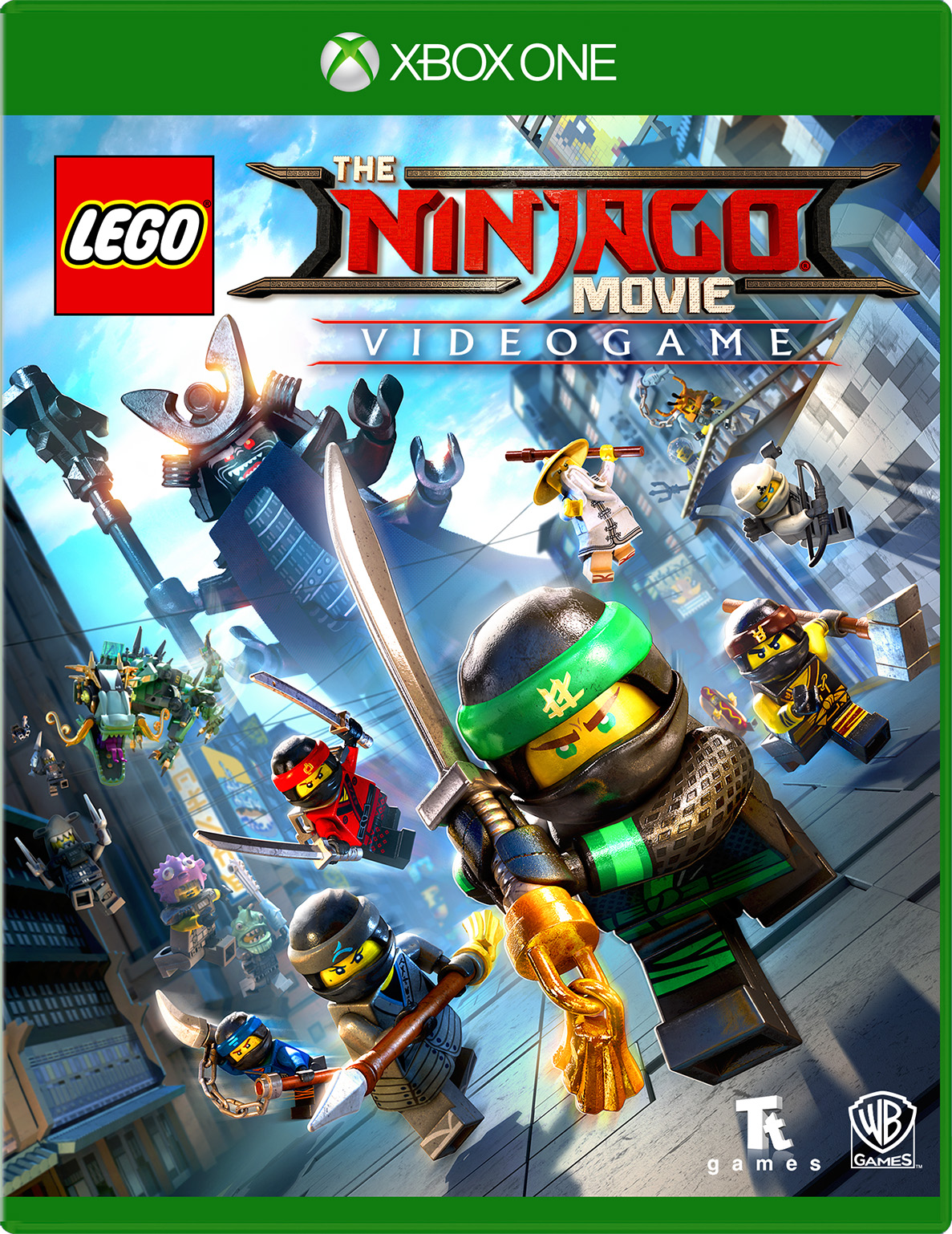 LEGO Ninjago Movie Video Game for Xbox One