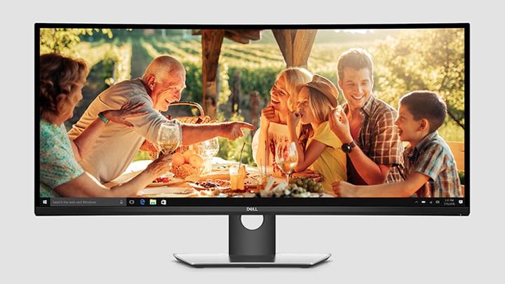 Buy Dell UltraSharp 38 Curved Monitor – U3818DW - Microsoft Store