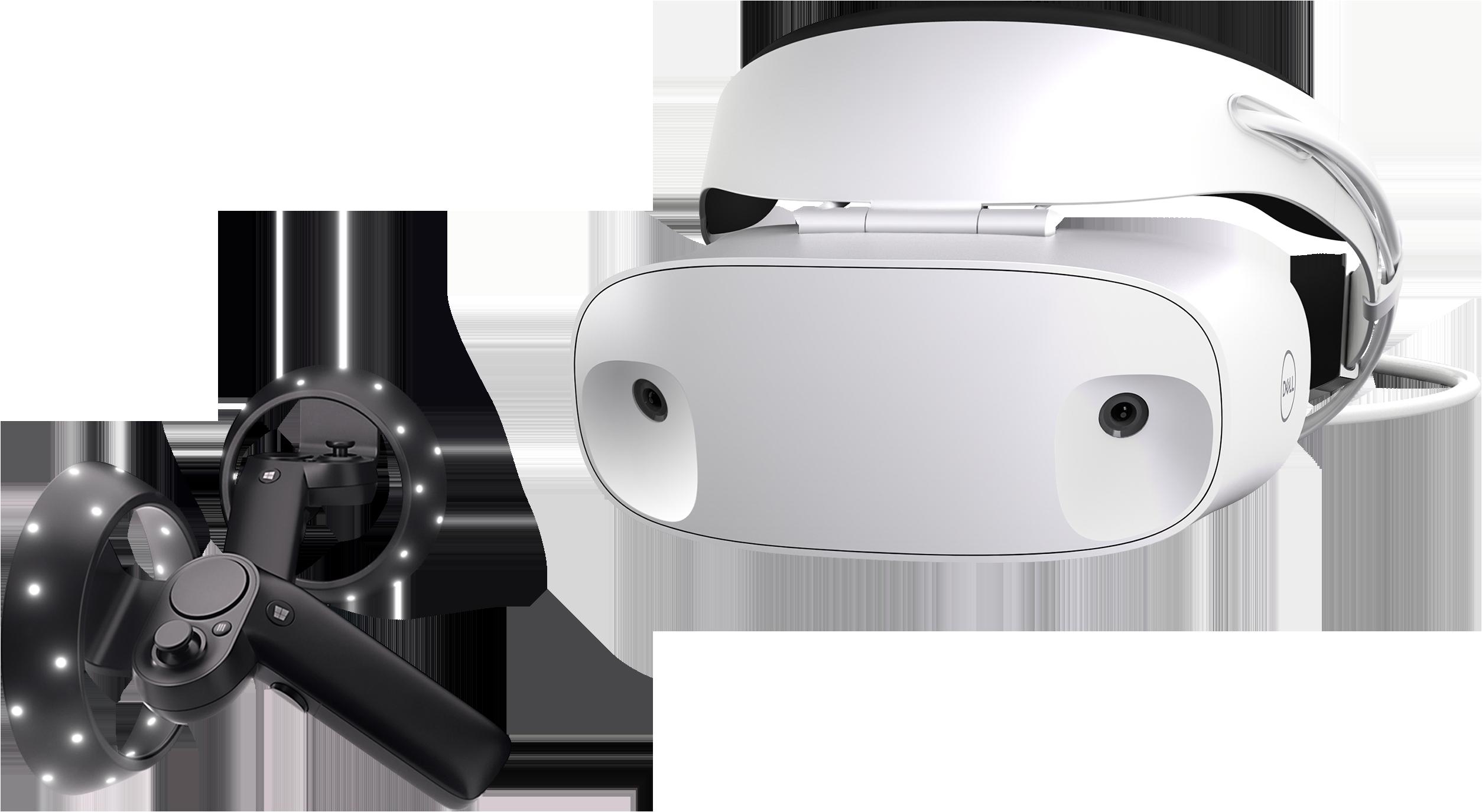 Casque Dell VisorWindows Mixed Reality avec contrôleurs de mouvement