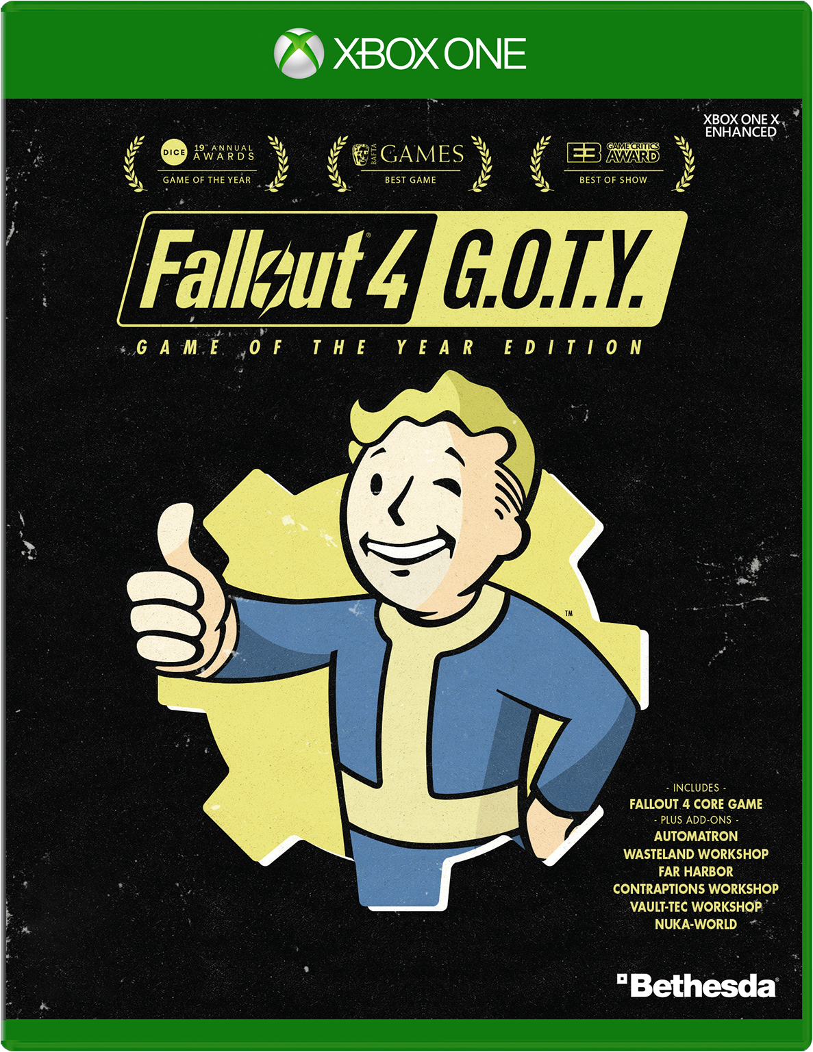 Bethesda Fallout 4 Game Of The Year Edition for Xbox One