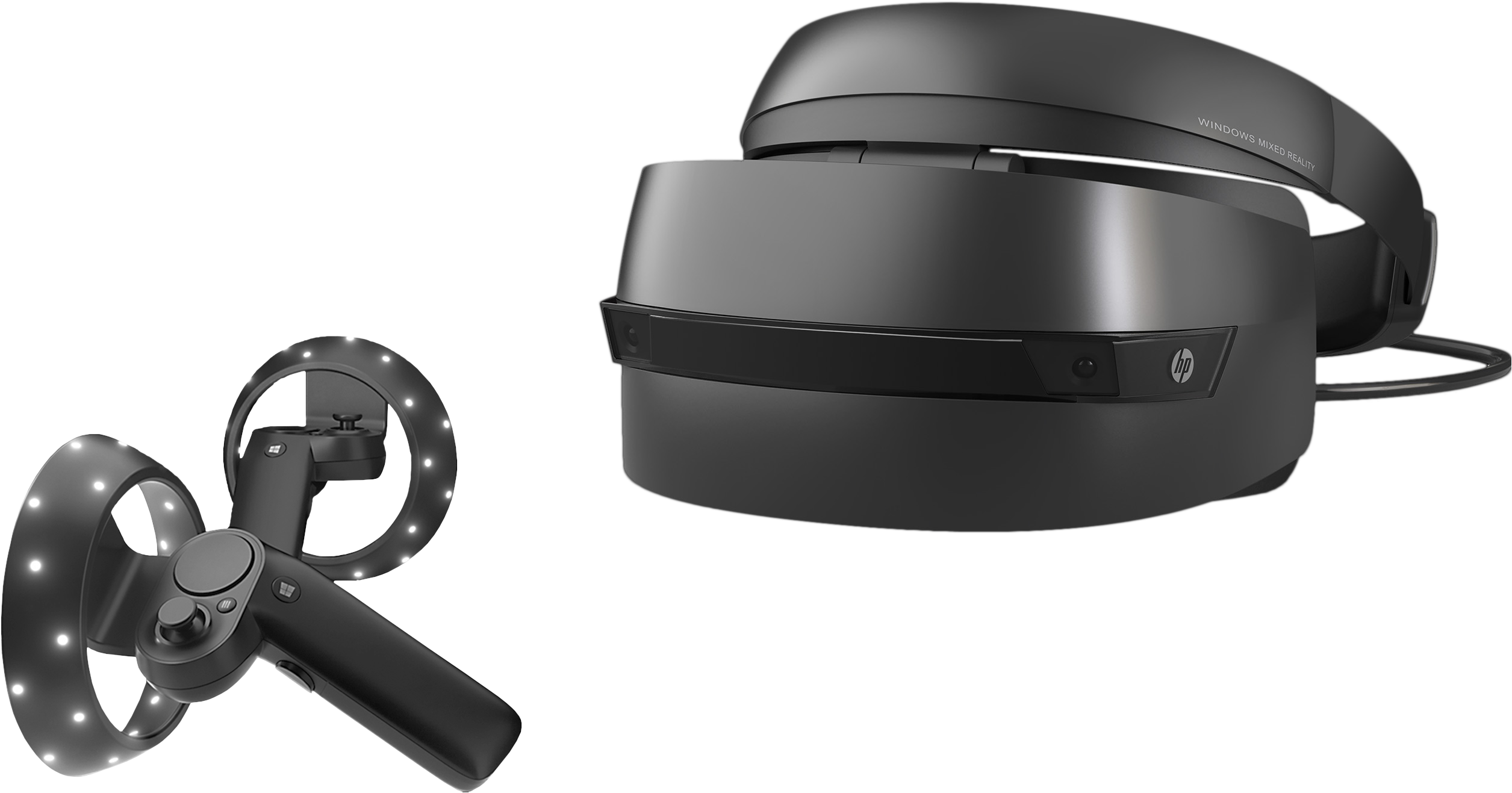 HP Windows Mixed Reality Headset with Motion Controllers