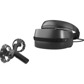 HP Windows Mixed Reality headset and controller, black