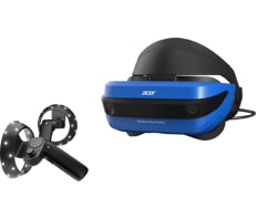 Acer windows mixed reality headset and controllers