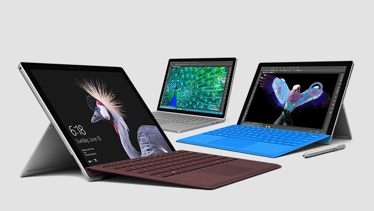 Surface Pro 4, Surface Pro, Surface Book