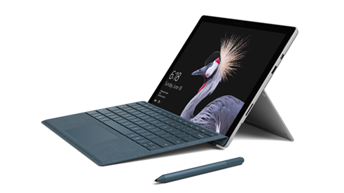 Surface Pro with pen accessory