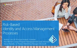 Risk-Based Identity and Access Management Processes webinar