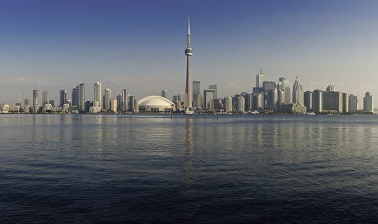 Image of Toronto city skyline