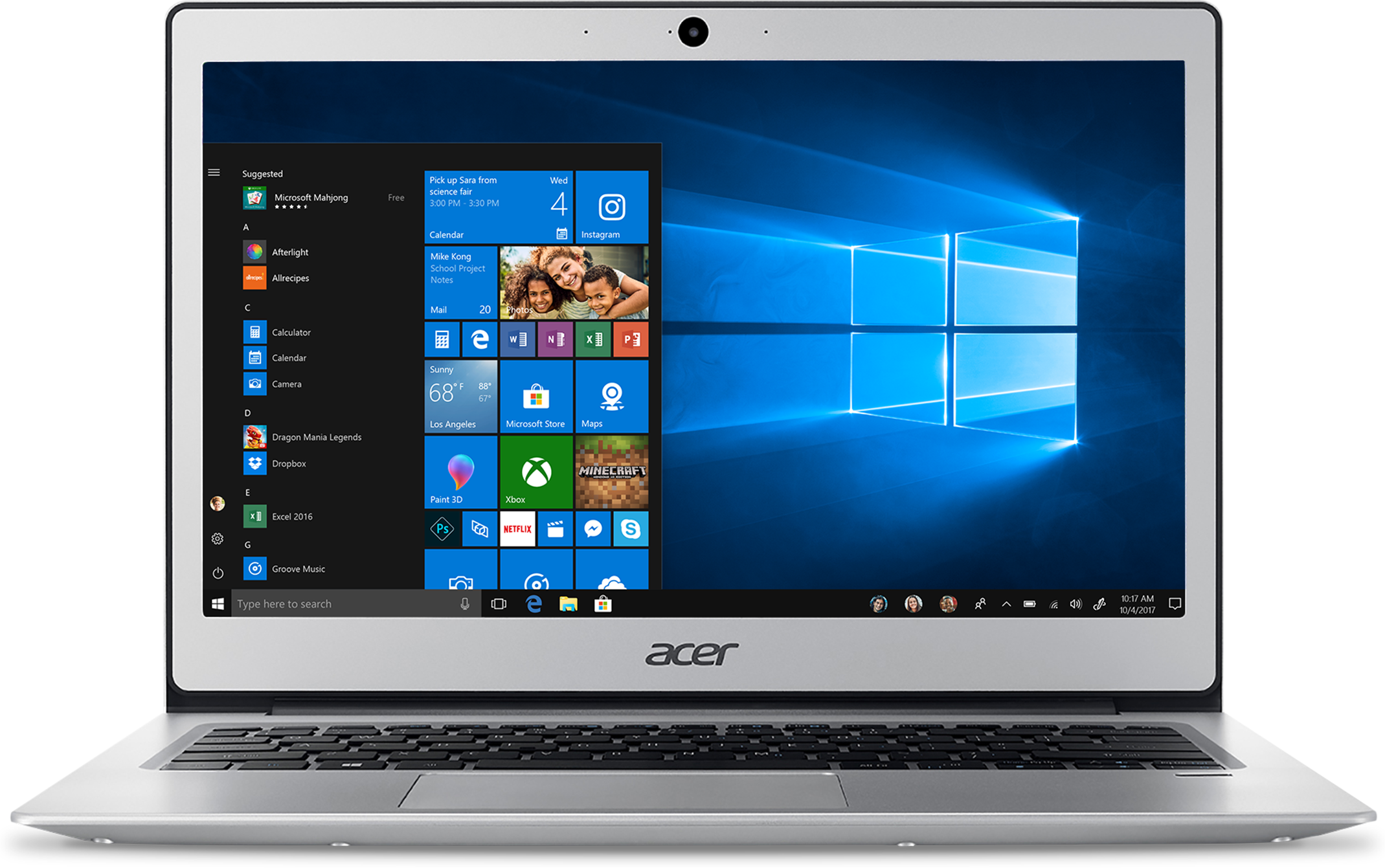 Ordinateur portable Acer Swift 1 SF113-31-P5TS