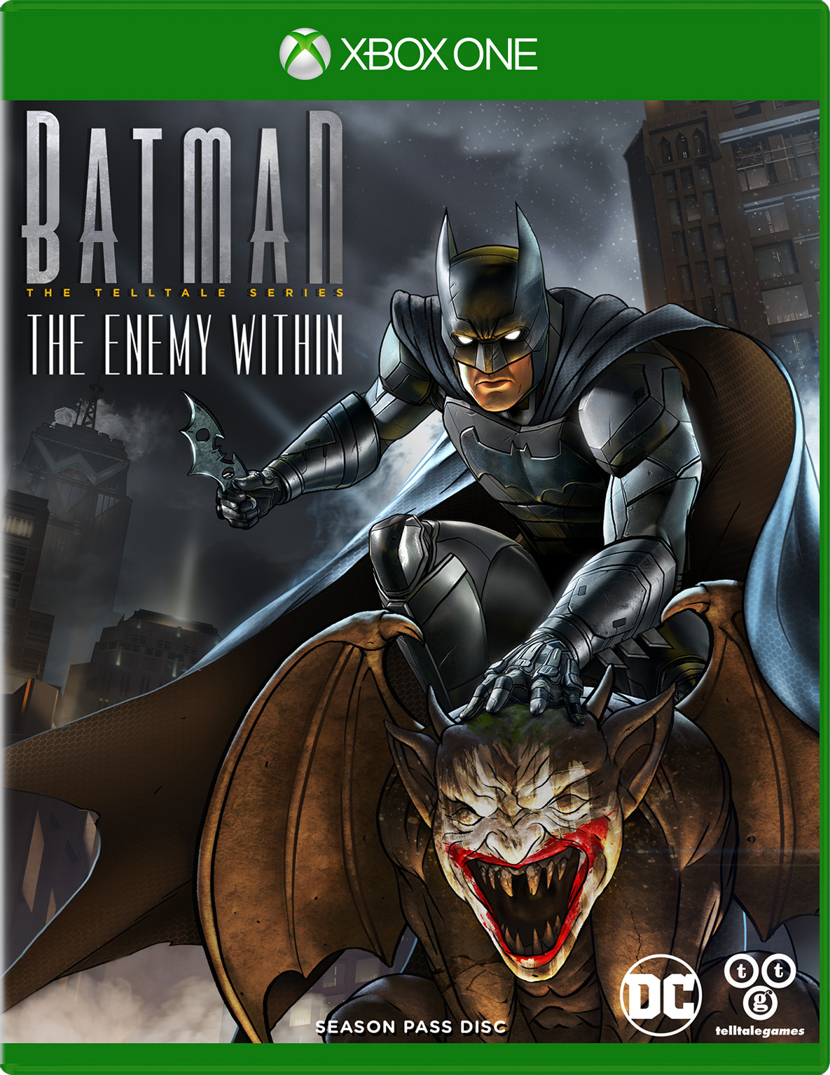 Batman: The Enemy Within Season Pass for Xbox One