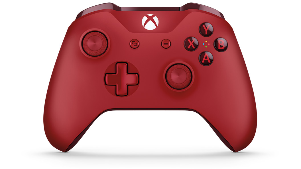 Xbox Wireless Controller Red Animated Rotator