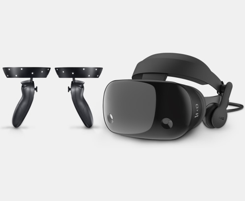 714d7eb82887 Samsung HMD Odyssey Windows Mixed Reality Headset with Motion Controllers