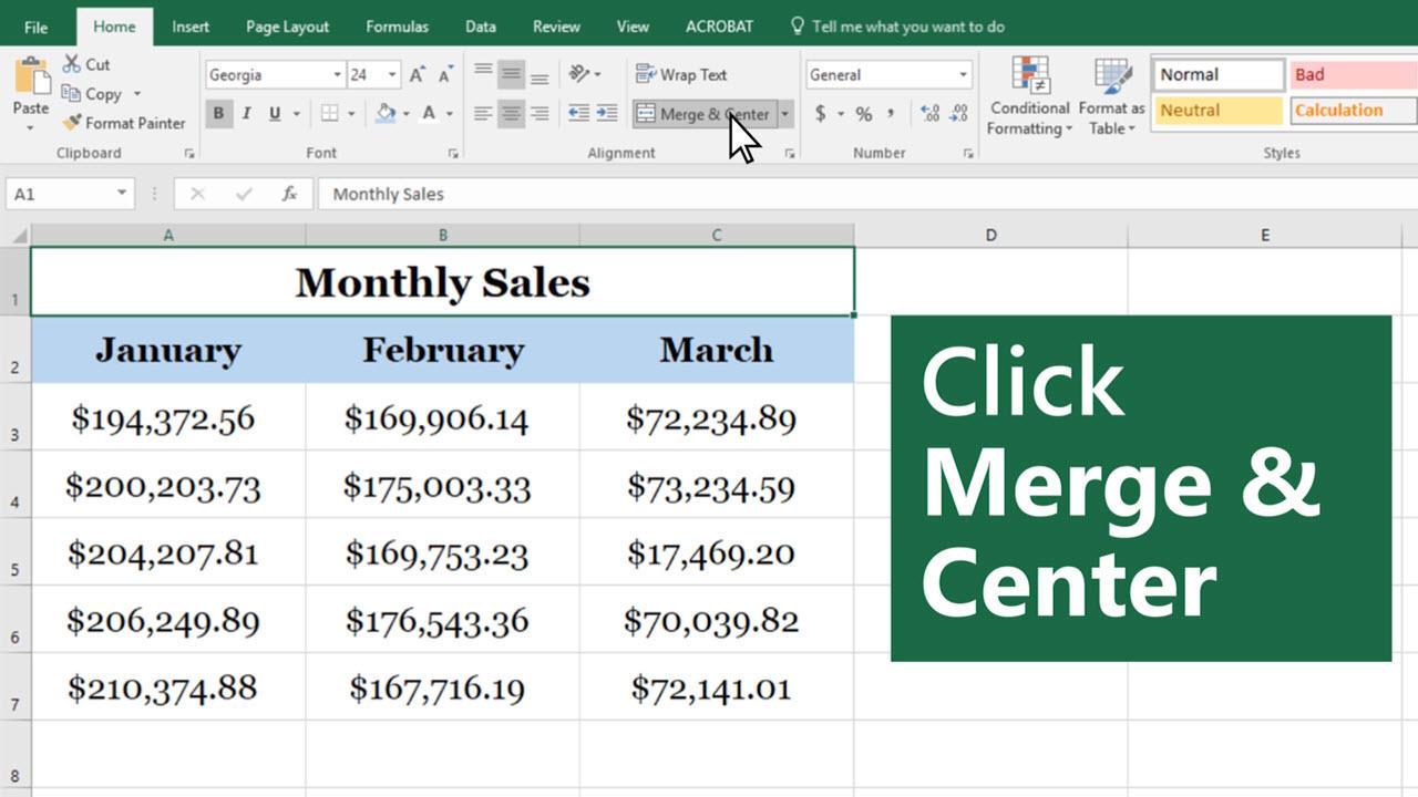 Workbooks how to merge workbooks in excel 2010 : Merge and unmerge cells - Excel