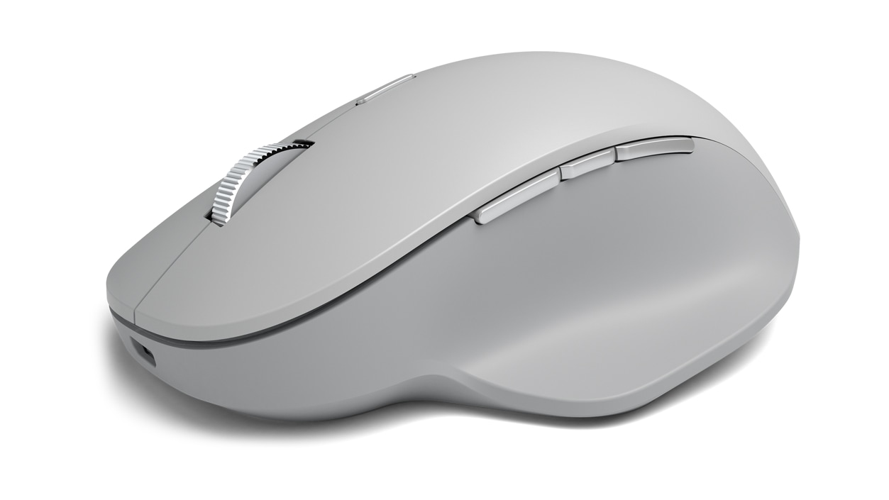 Front view of Surface Precision Mouse
