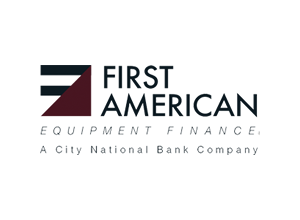 First American Equipment Finance.