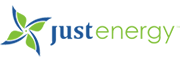 Logo von Just Energy.