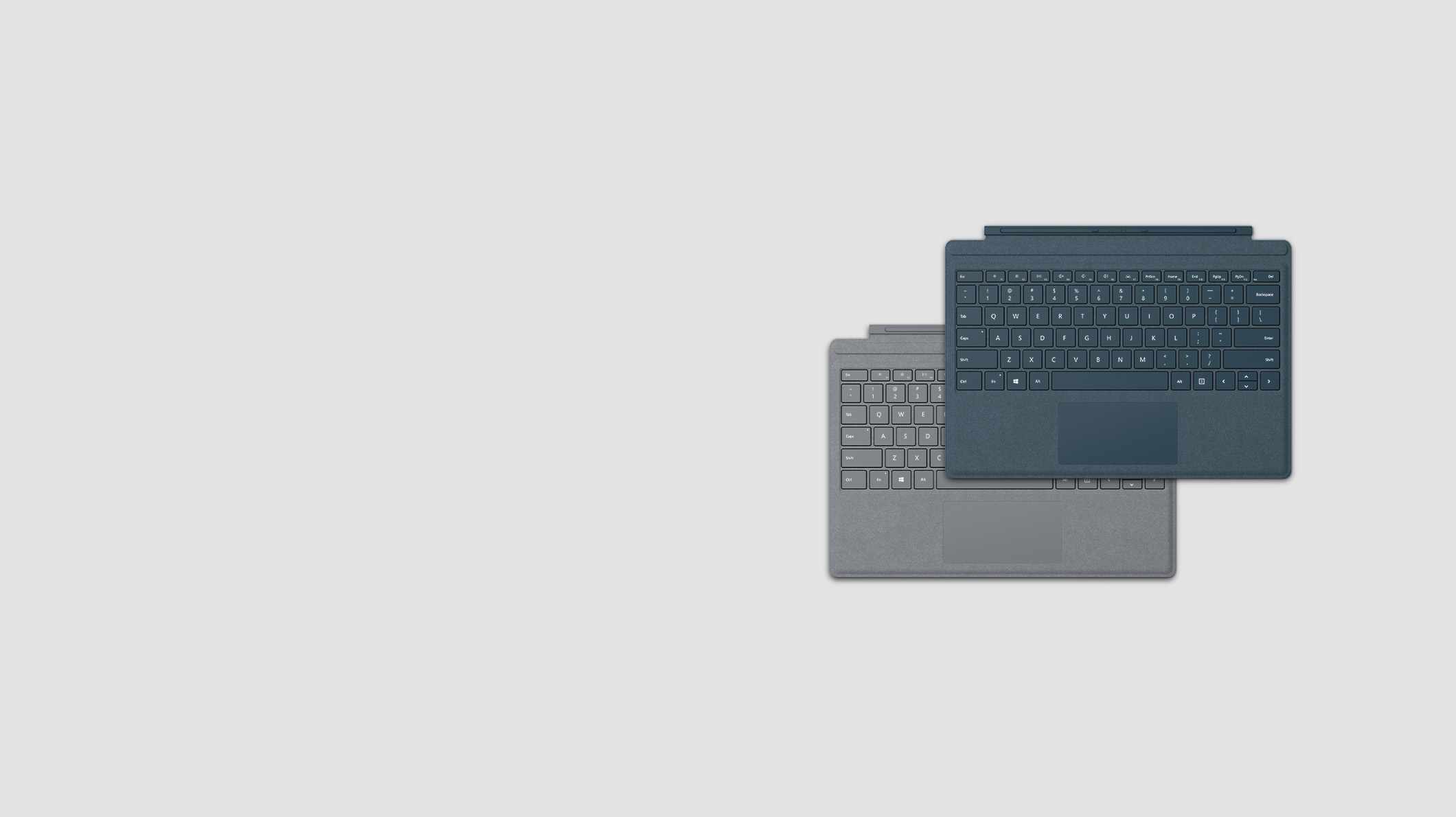 2 fundas con teclado para Surface Pro