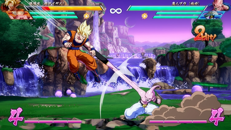 Image result for dragon ball fighterz wasteland