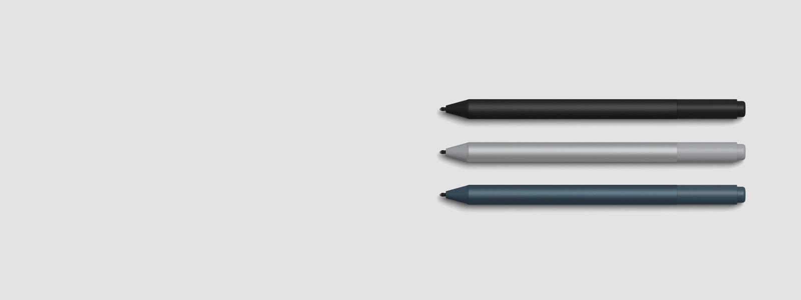 3 canetas para Surface