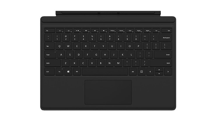 Surface Pro black Type Cover