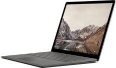 Microsoft Surface Laptop (Certified Refurbished) - Intel Core i5 / 256GB SSD / 8GB RAM - Graphite Gold