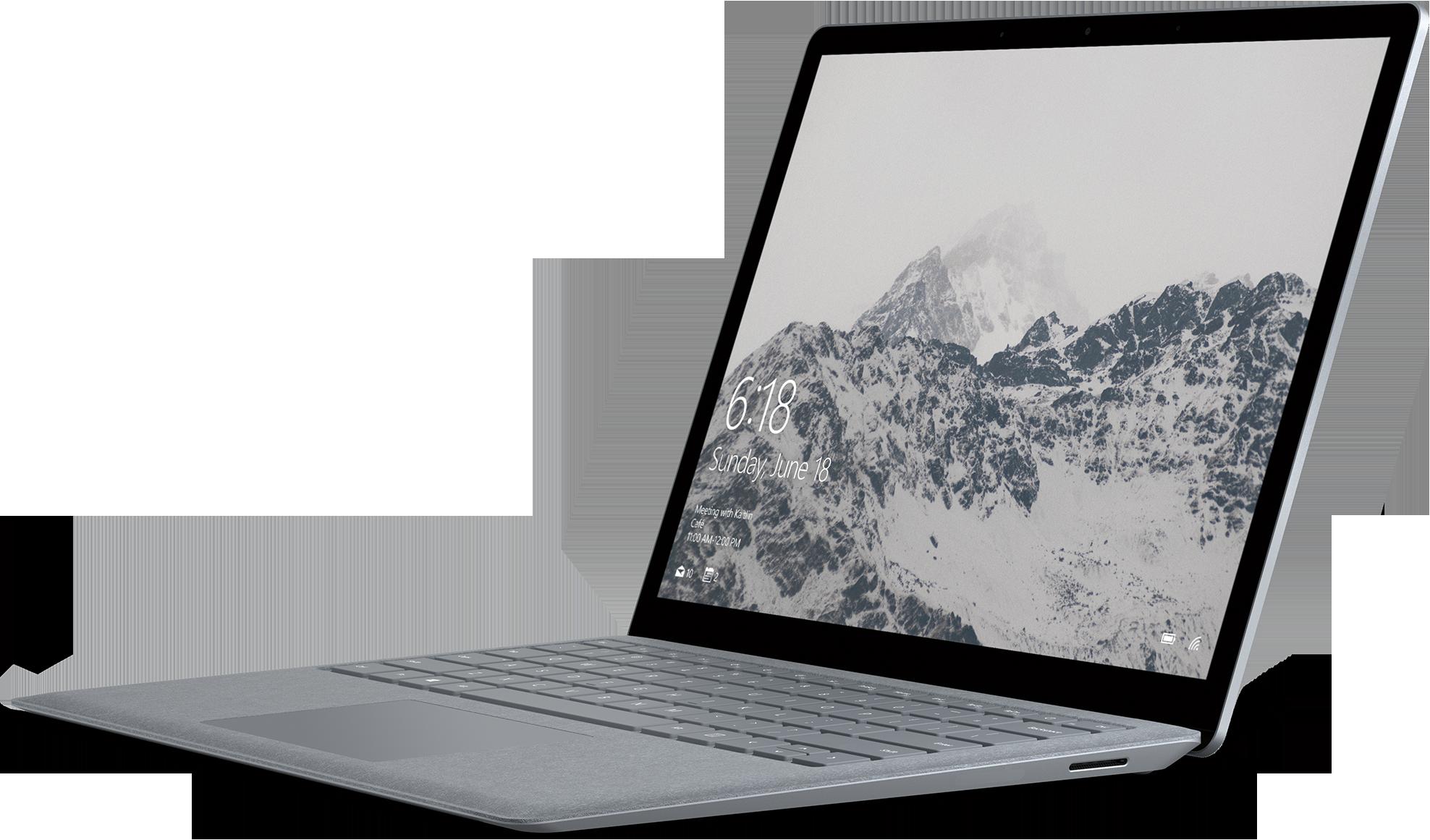 Microsoft Surface Laptop (Certified Refurbished) - Intel Core i5 / 256GB SSD / 8GB RAM - Platinum