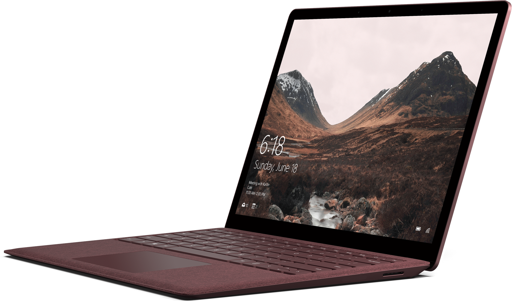 RE1I4Eo?ver=1a15 - Microsoft Surface Laptop (Certified Refurbished) - Intel Core i7 / 512GB SSD / 16GB RAM - Burgundy