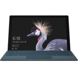 Surface Pro with Type Cover attached