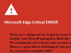 Als technischer Support getarnte Betrugsversuche \u2013 Windows Defender