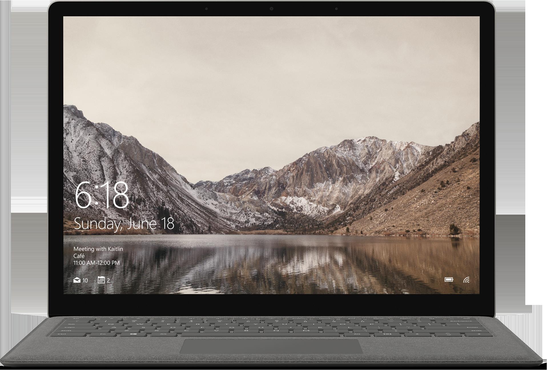 Surface Laptop - 256GB / Intel Core i7 / 8GB RAM (Graphite Gold)