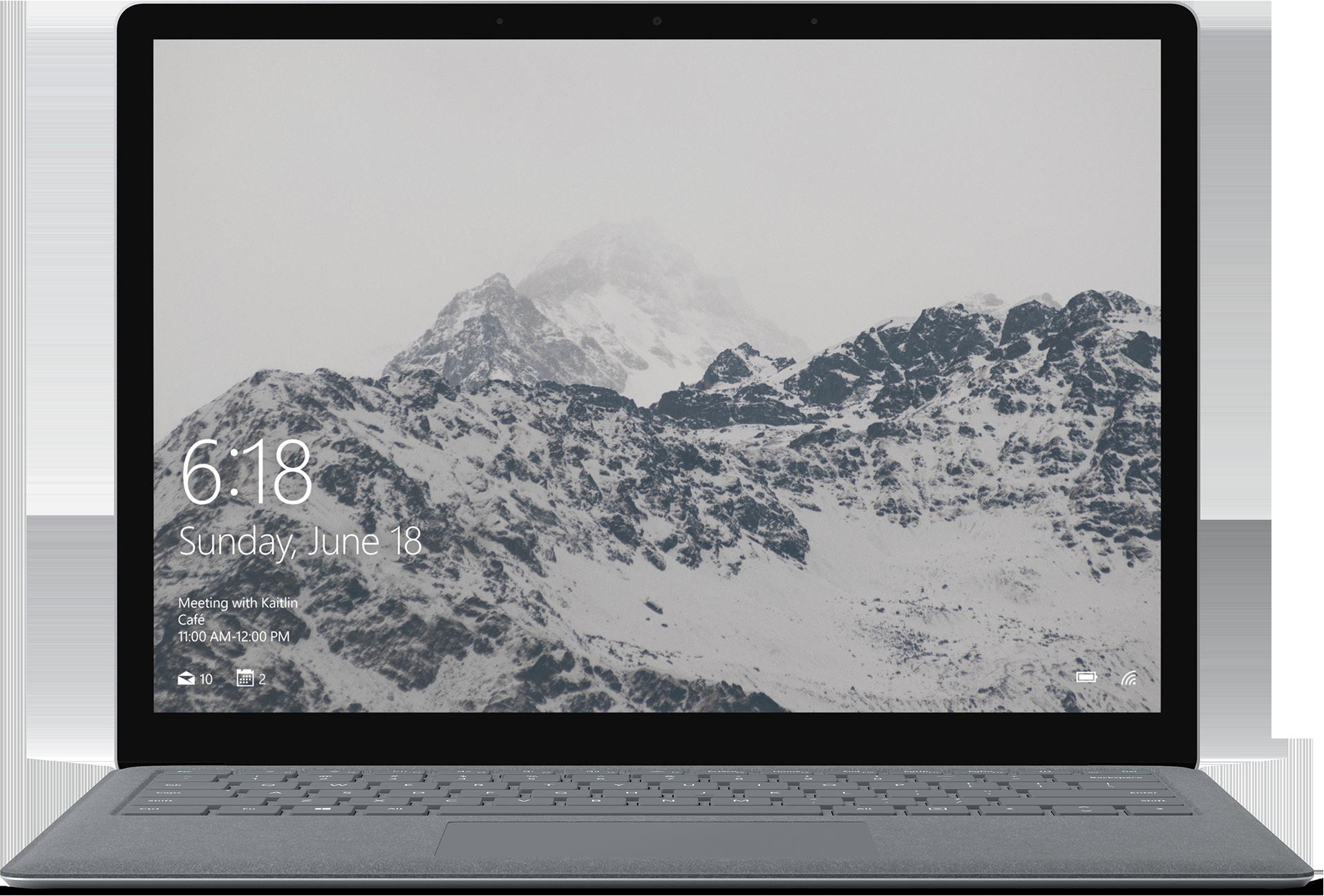 Surface Laptop - 256GB / Intel Core i5 / 8GB RAM (Platinum) - Ships by 8/27/2018