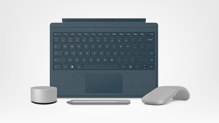 Surface Dial, Surface Pen, Surface Arc Mouse and Type Cover Setup