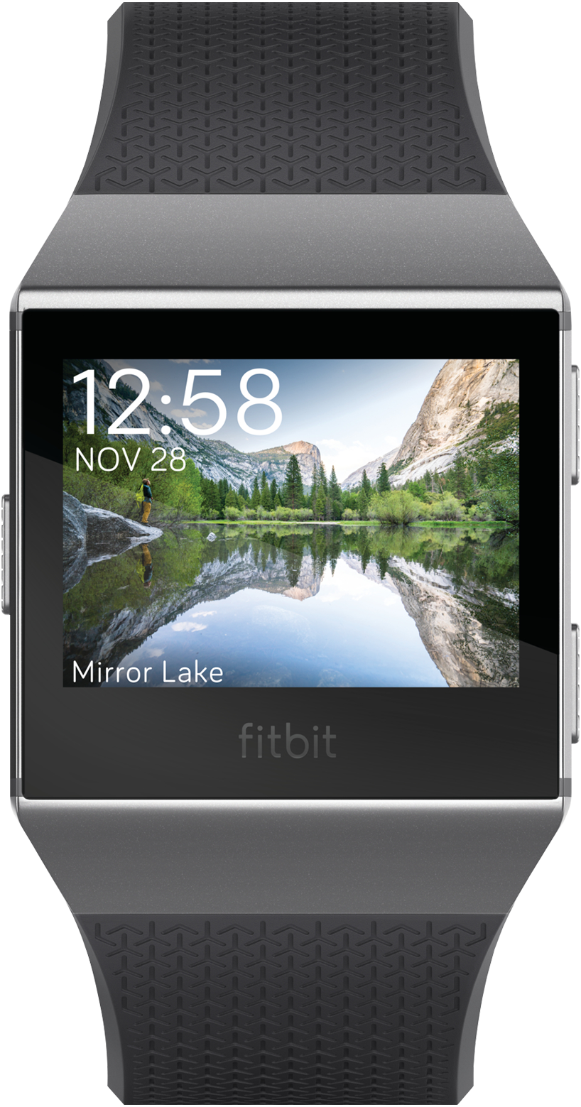 Fitbit Ionic (Charcoal/Smoke Gray)
