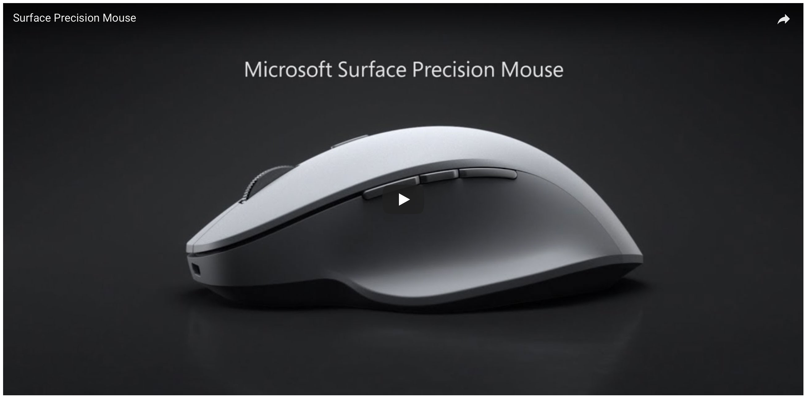 Buy Surface Precision Mouse - Microsoft Store