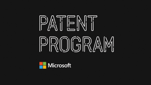 Patent Program and Microsoft logo