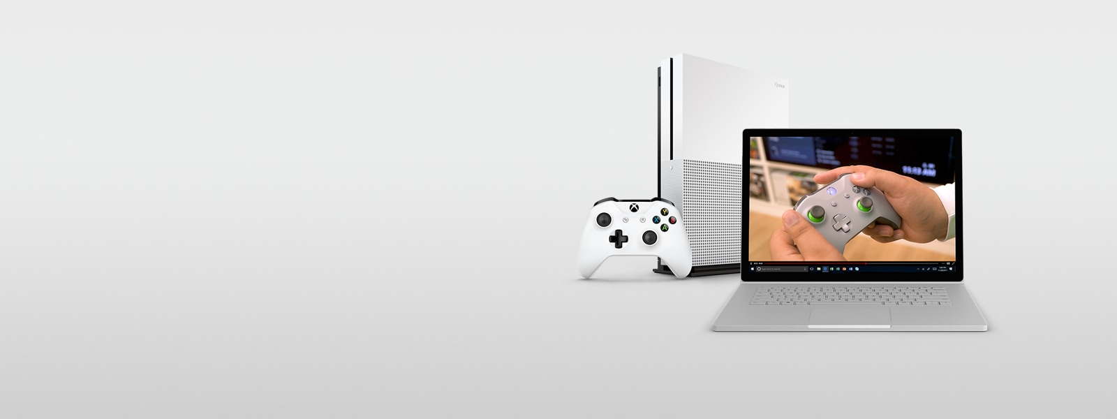 Xbox One S and Surface Book 2