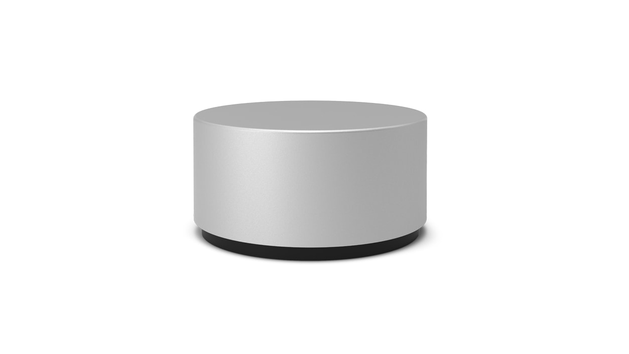 Close-up view of details on Surface Dial