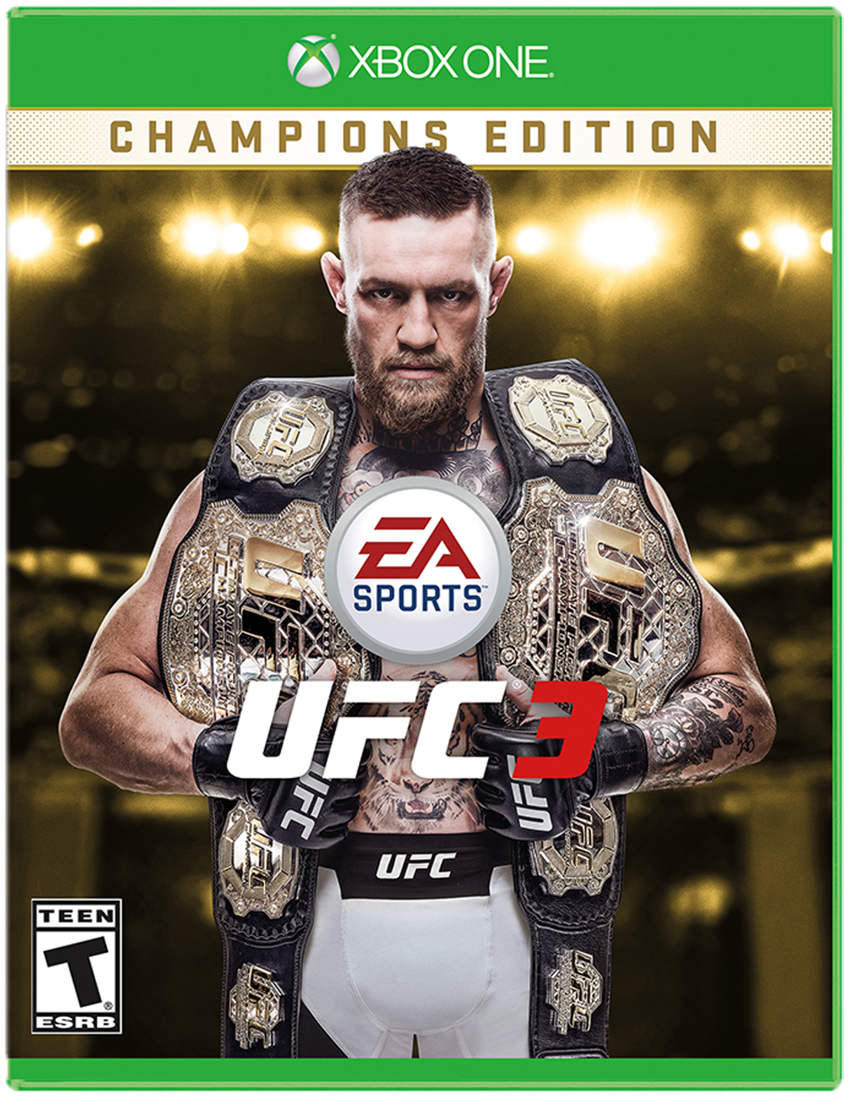 UFC 3 Championship Edition for Xbox One