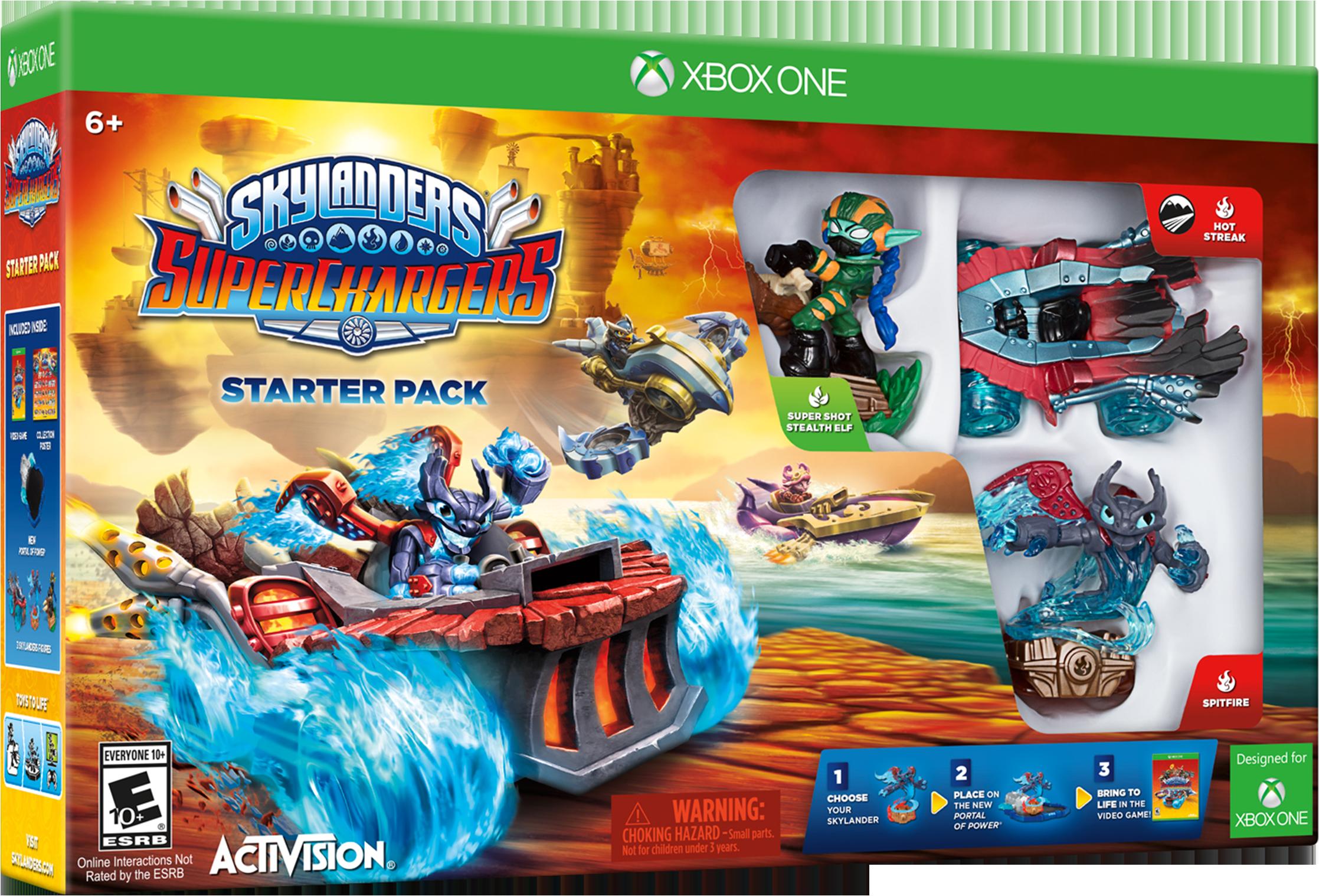 Skylanders SuperChargers Starter Pack for Xbox One FKF-01323