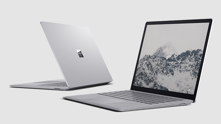 Two Surface Laptops