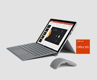 Surface Pro, Type cover, souris et Office 365