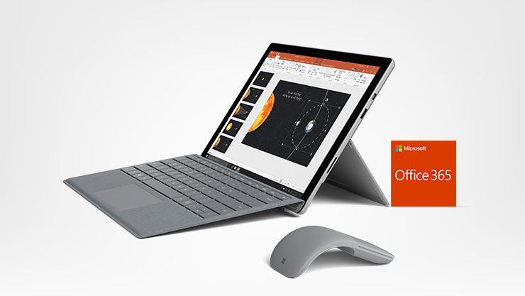 Pack Surface Pro, Type Cover, souris et Office