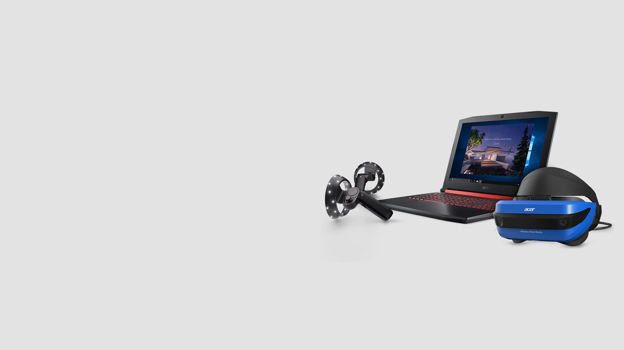 WMR Acer PC headset controller bundle