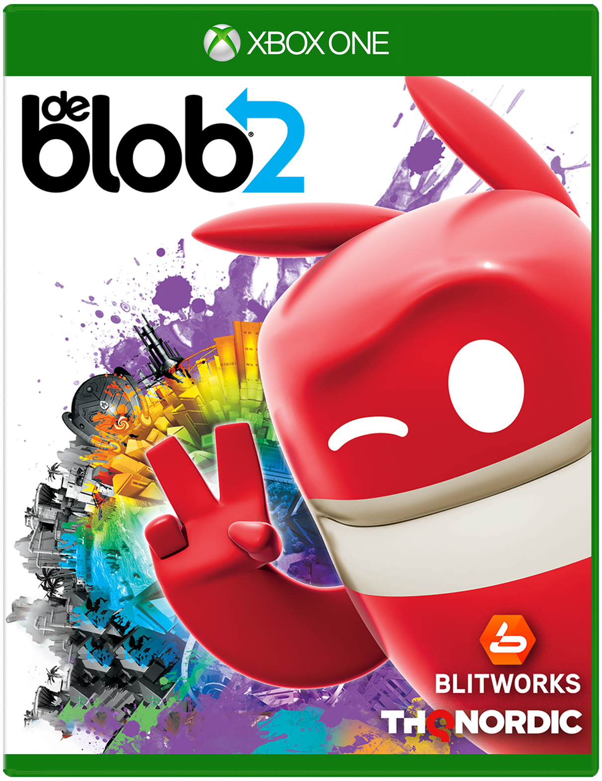 De Blob 2 game for Xbox One