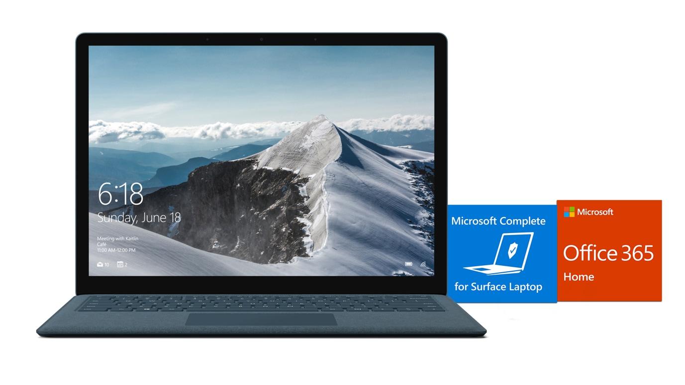 surface laptop essential bundle