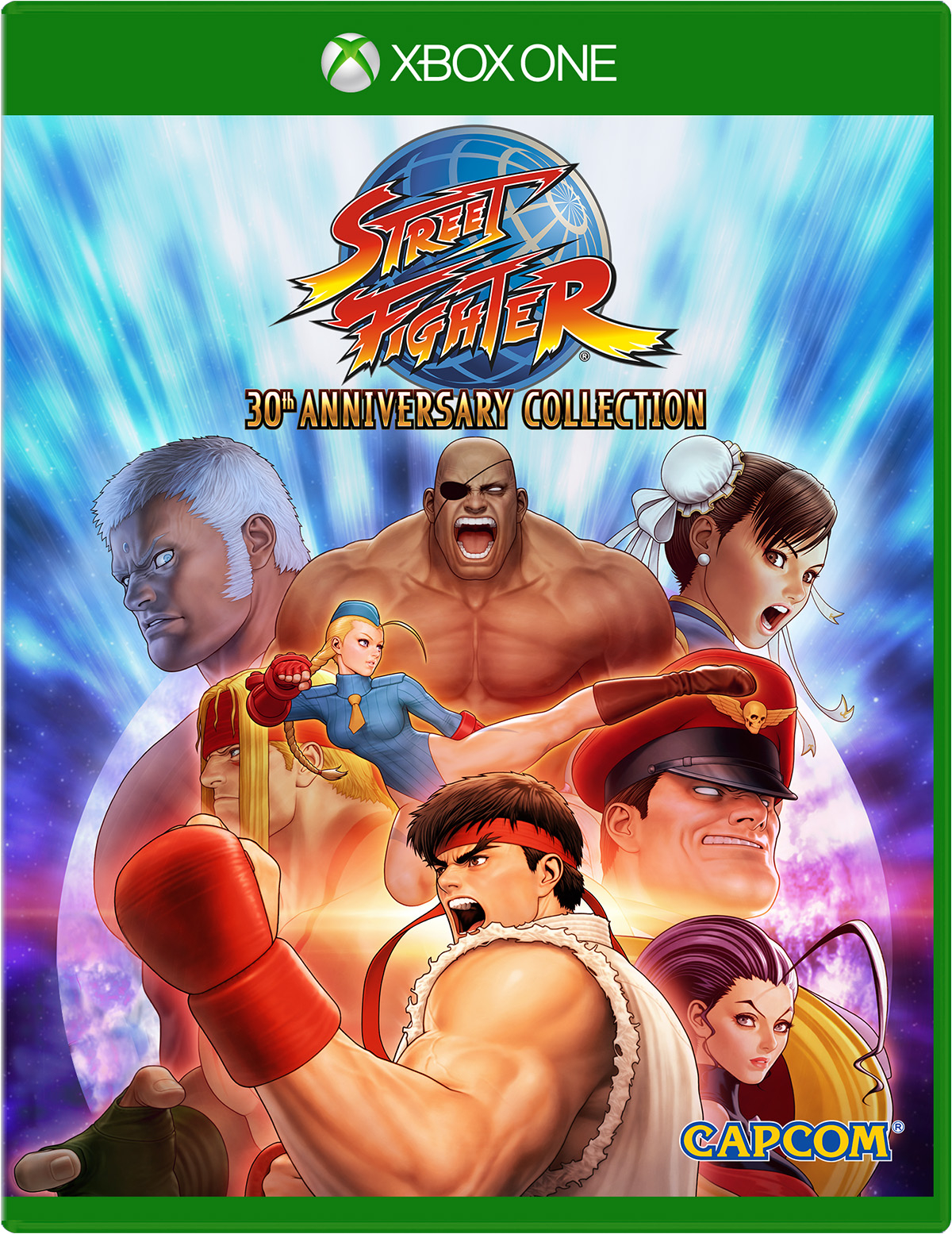 Street Fighter 30th Anniversary Collection for Xbox One QH4-00895