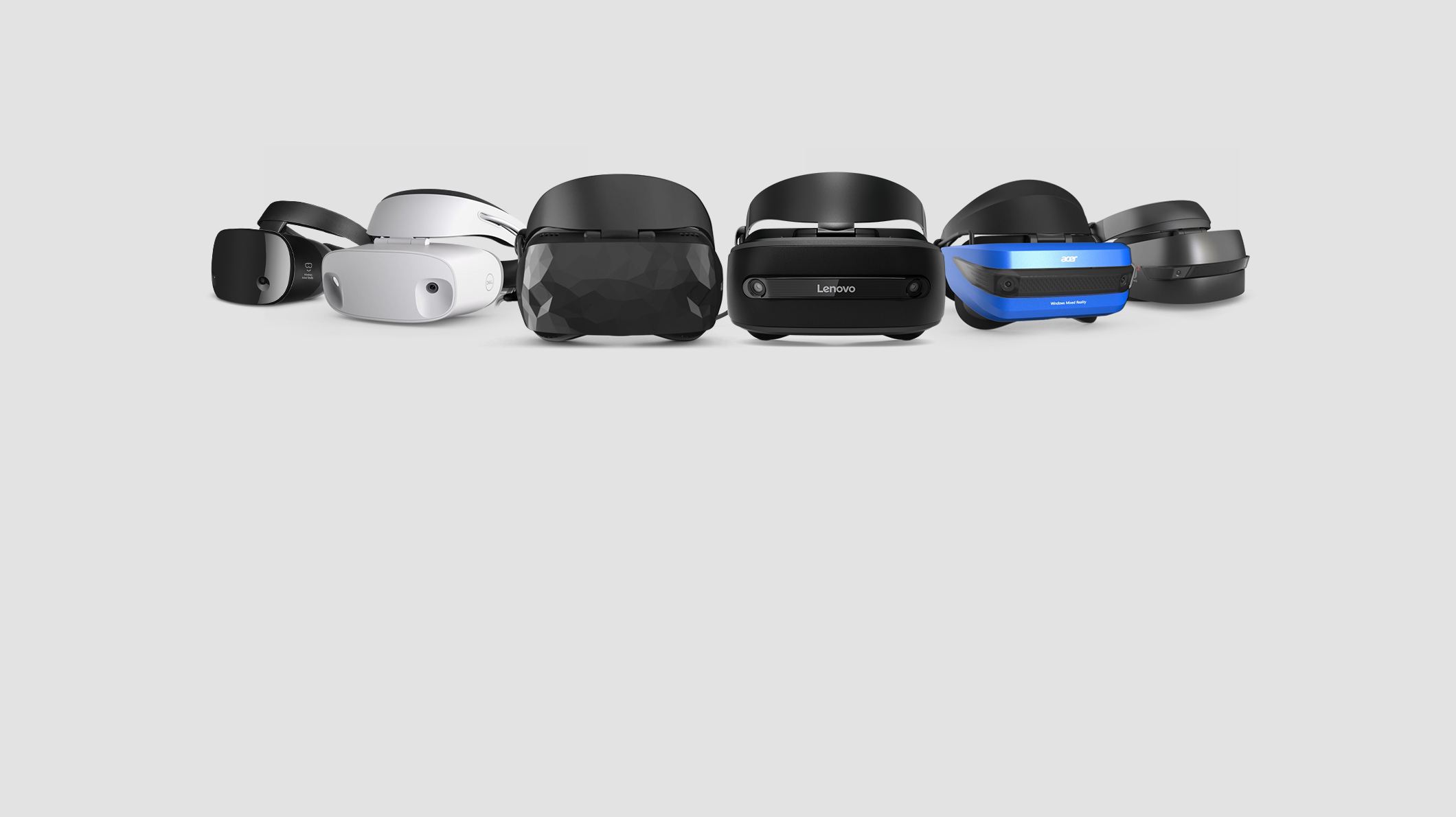 Windows Mixed Reality headsets