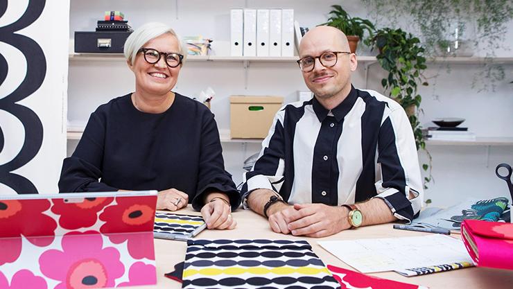 Marimekko Designers and Microsoft